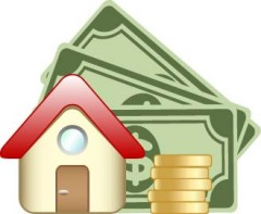 House and cash icon