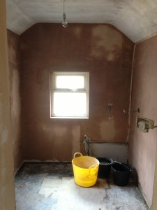 All the walls are skimmed and smooth now