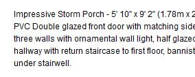 Also, what is an 'ornamental wall light'? Is that a light that doesn't light up, it's just for show?!