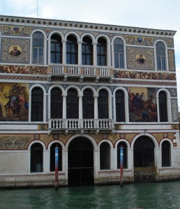 Painted palazzo facade, Venice