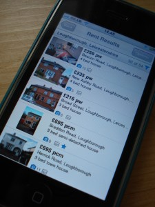 iPhone Rightmove App