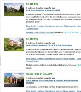 Rightmove search results