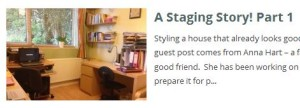 Staging story part 1