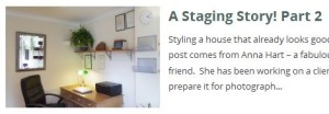 Staging story part 2