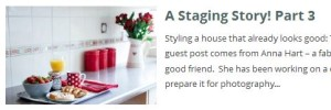 Staging story part 3