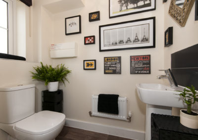 WC - these small rooms don't have to be dull!