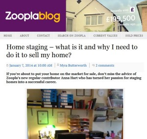 Zoopla asked me to write for them too, so really, I know what I'm talking about!