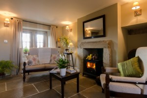 NOW this room makes you feel something - can't you just imagine snuggling up by the roaring log fire with a book and a cuppa?