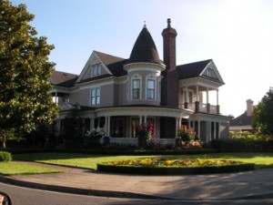Property in the Napa Valley, California, USA